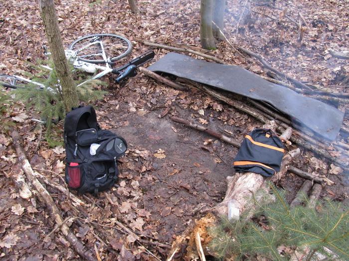 ночлег в лесу