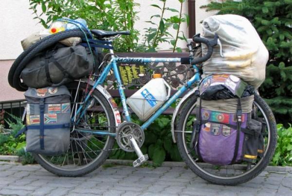 вело путешественник на дальние расстояния