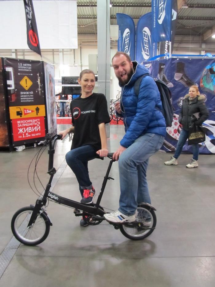 Складной велосипед БигФиш