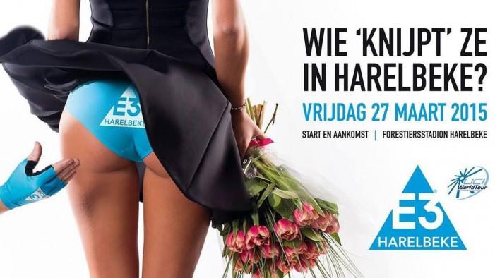 Скандал вокруг постера E3 Harelbeke