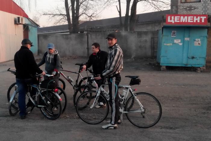 Тульчин, велосипедисты