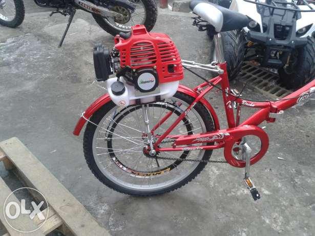 велосипед с косой - косопед