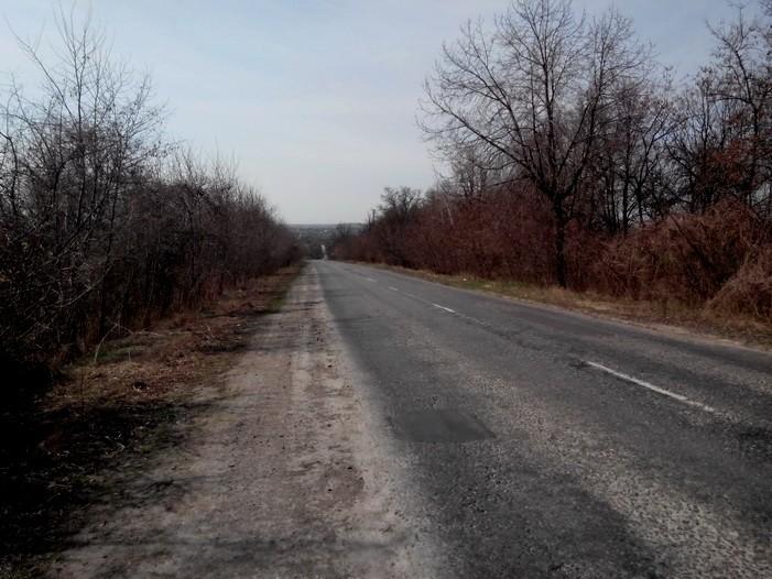 горка за Ладыжинским мостом