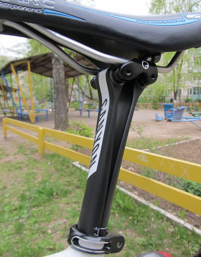 Велосипед Kellys ARC 2.9 b подседельный штырь Canyon CF3 Pro Carbon вид снизу