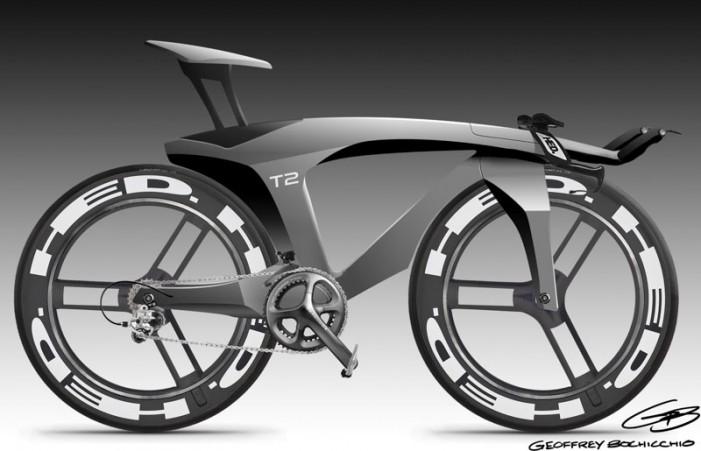 Концепт велосипеда от Ильи Вострикова