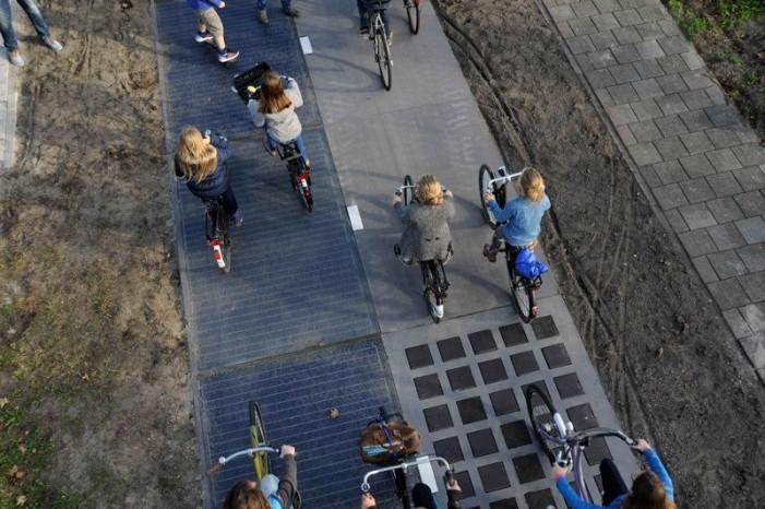 Велодорожки плюс солнечные панели