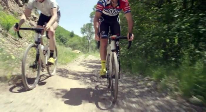 Cannondale. Шоссейный велосипед с амортизационной вилкой Lefty