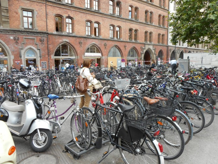 Мюнхен велосипедный