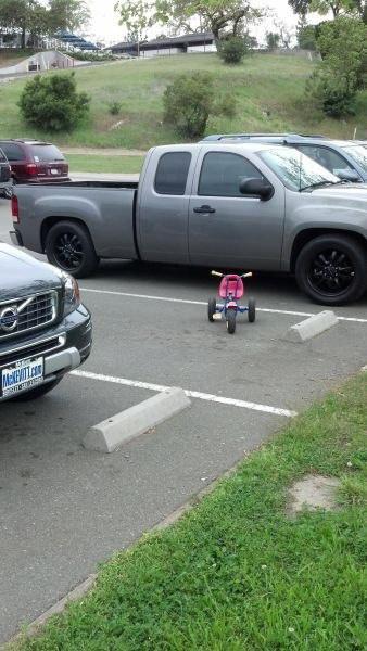 Все правильно сделал, правильная велопарковка