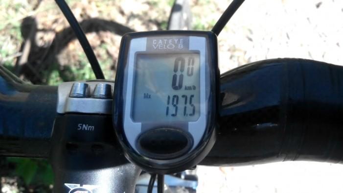 Рекорд скорости на шоссейном велосипеде 197 км-час