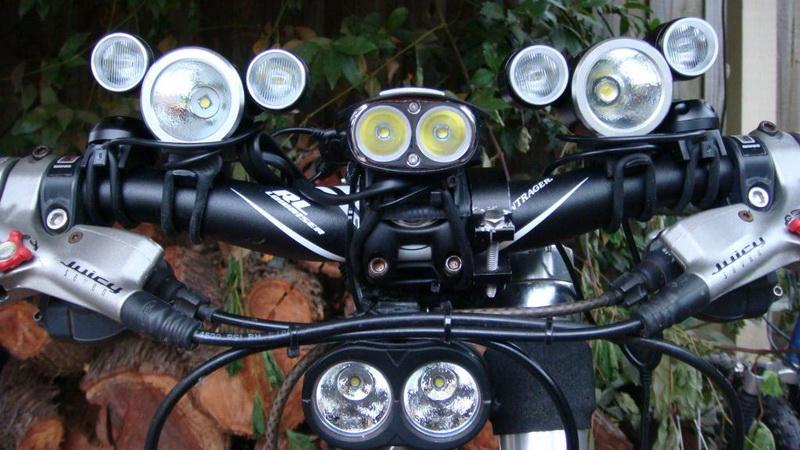Правильная велосипедная фара выглядит так