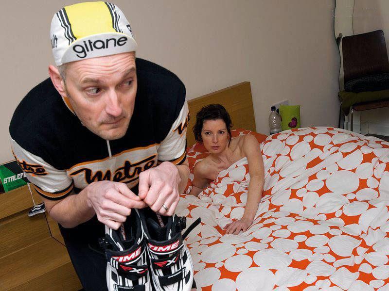 сбежать от жены утром