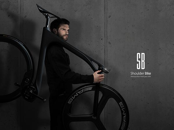 Плечо велосипед