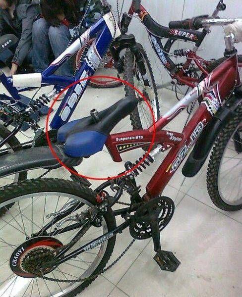 выбор велосипедного седла