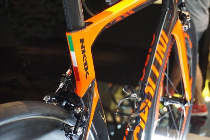 Шоссейный велосипед Cipollini NK1K аэро 2016