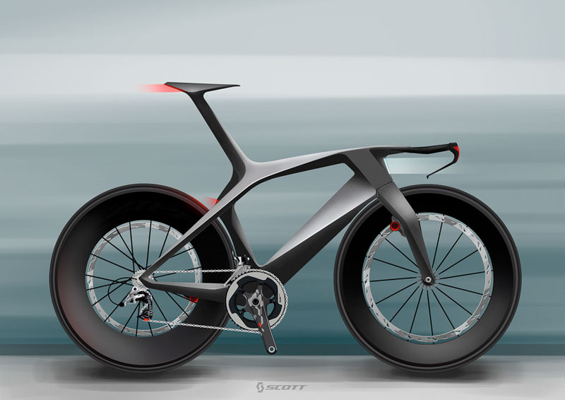 Scott concept bikes by Julien Delcambre