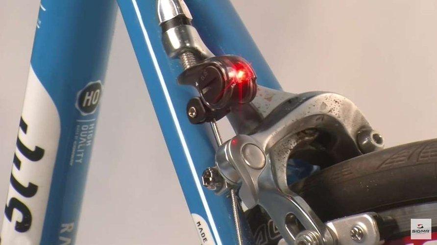 Велосипедный стоп-сигнал от Sigma