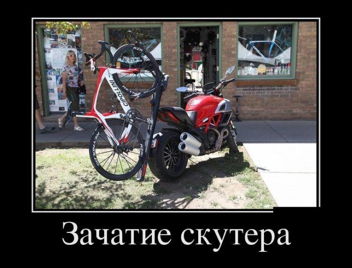 Зачатие скутера