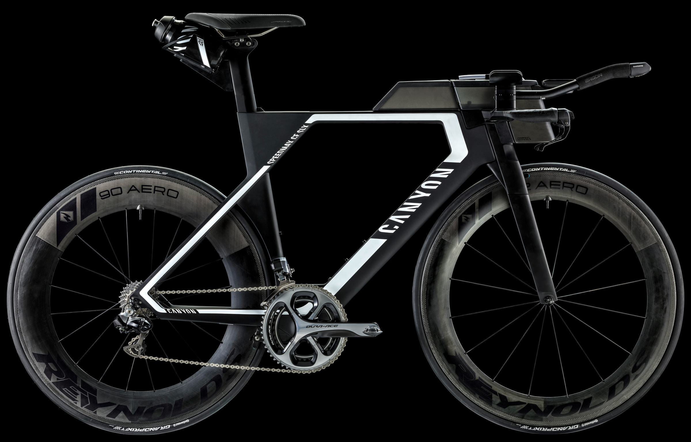велосипед Canyon Speedmax CF-SLX каньйон