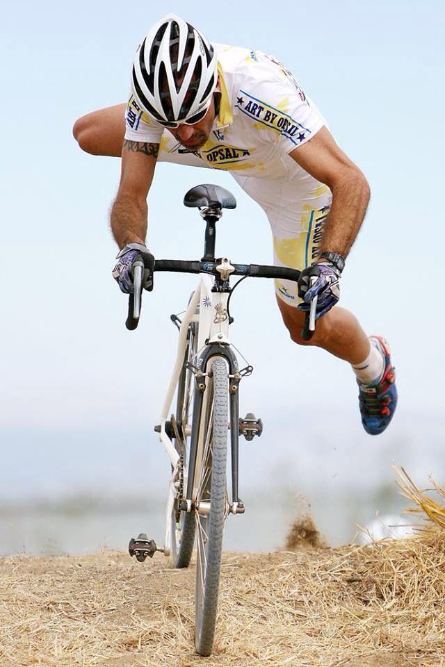 как правильно садится на велосипед