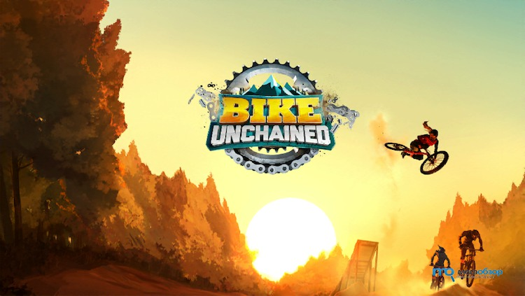 велосипедная игра Bike Unchained
