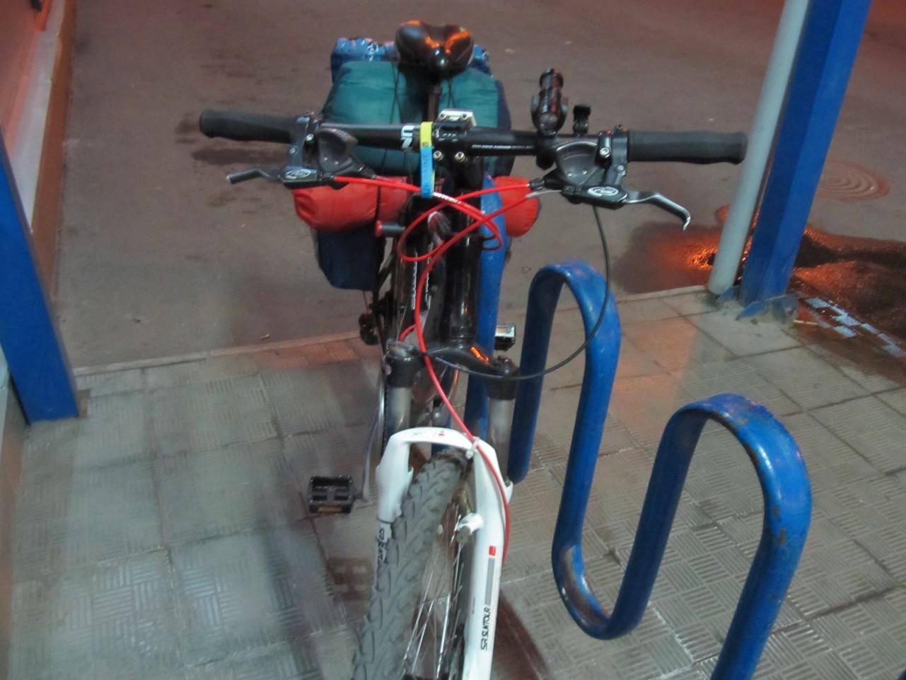 Сергей велосипедист Киев - Мариуполь (3)