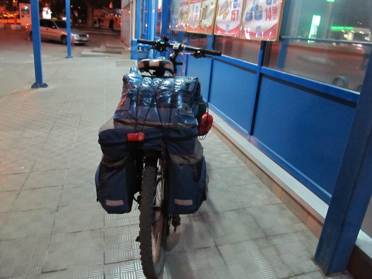 Сергей велосипедист Киев - Мариуполь (9)