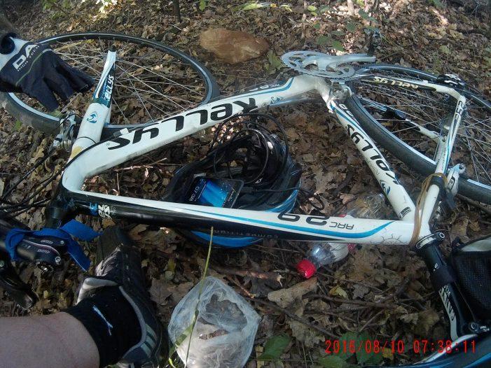 велосипед Келлис в походе
