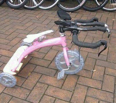 Апргрейд велосипеде