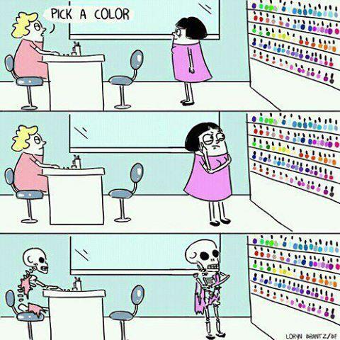 сложный выбор цвета