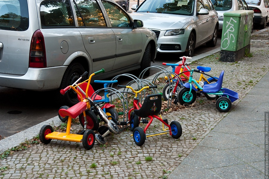 Нуачо, тоже велотусня!