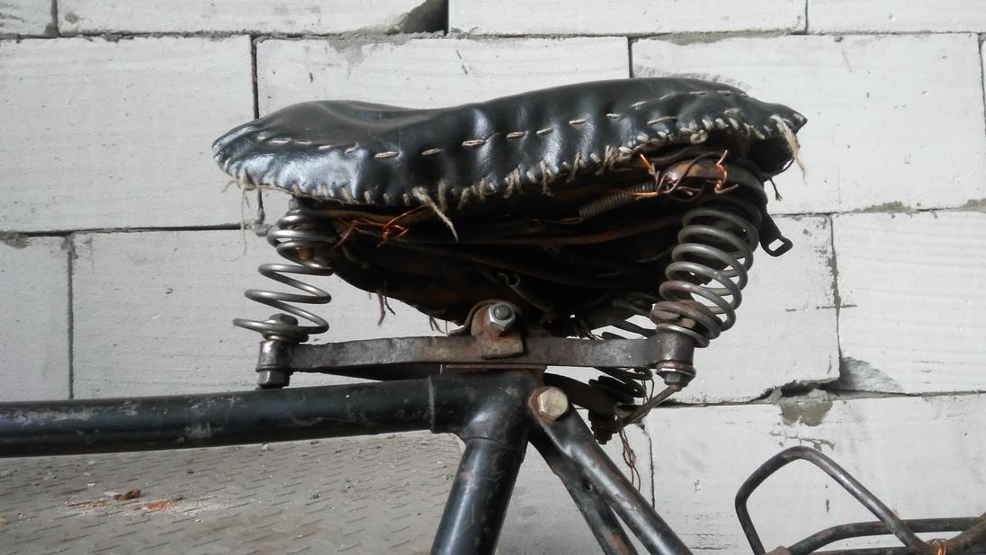 велосипедное седло лучше Брукса