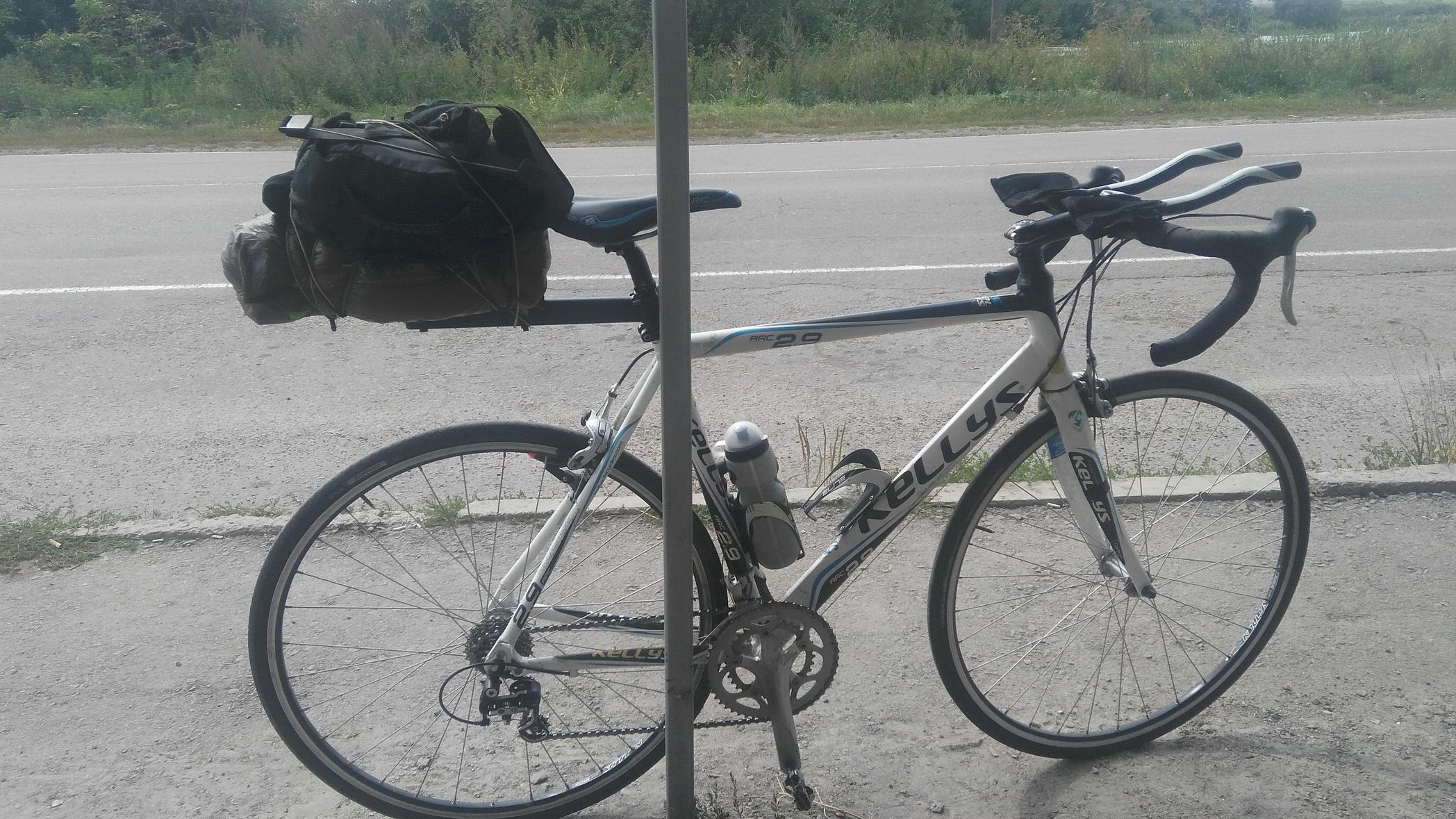 Поломка спицы на заднем колесе