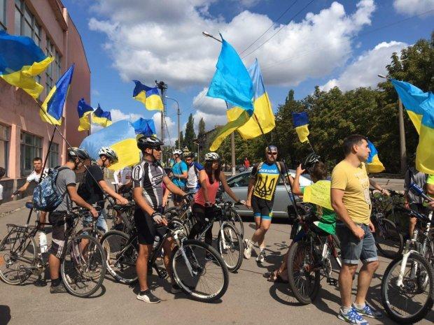 Велосипедисты активисты