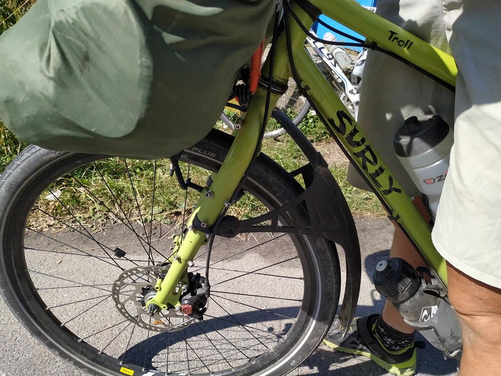 Велодальнобойщица из Франции Натали