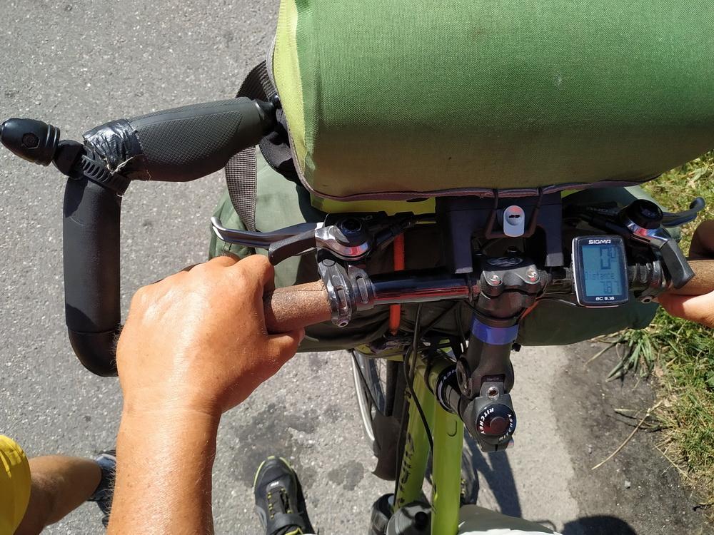 Велосипед дальнобойщицы из Франции